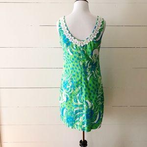 Lilly Pulitzer Dresses - Lily Pulitzer Liz Shift Dress Limeade Roar 🐯 🏝
